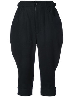 укороченные брюки Jockey Yohji Yamamoto
