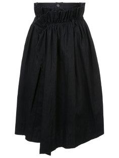 юбка с запахом Yohji Yamamoto