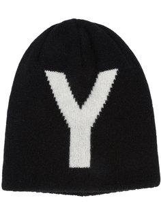 двухсторонняя шапка Ys Y`s