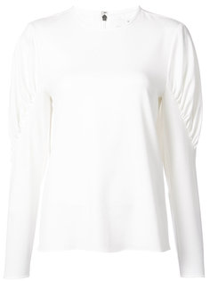 ruched panel blouse Tibi