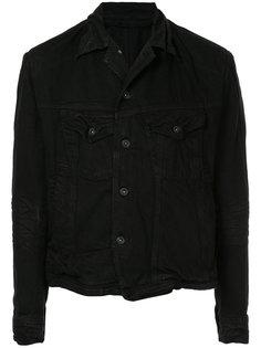 асимметричная джинсовая куртка Julius