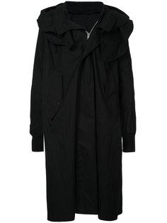 пальто с воротником-шалькой Julius