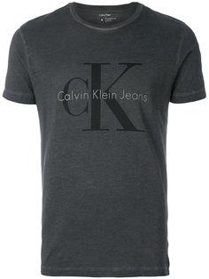 футболка с принтом логотипа Calvin Klein