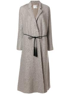 пальто с поясом Forte Forte
