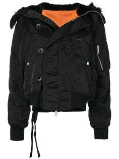 куртка с капюшоном Unravel Project