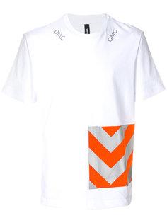 футболка с графическим принтом Omc