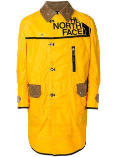 пальто с вельветовыми вставками Junya Watanabe Comme Des Garçons Man