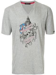 футболка с принтом London Loveless