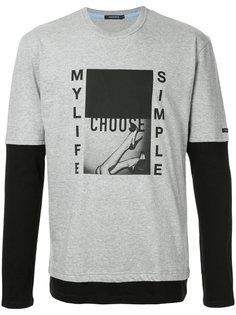 футболка с графическим принтом Education From Youngmachines