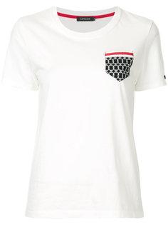 футболка с принтом на кармане Loveless
