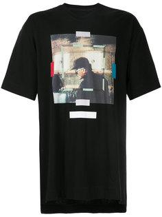 футболка с фото-принтом Julius