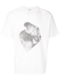 футболка с принтом Saint Laurent