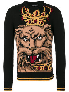 свитер Royal Lion Dolce & Gabbana