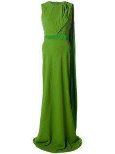 вечернее платье с открытой спиной Alexander McQueen