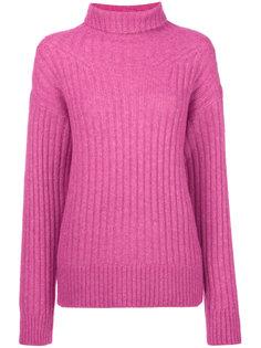 свитер в рубчик с отворотной горловиной 3.1 Phillip Lim