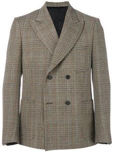 двубортный пиджак с узором Stella McCartney