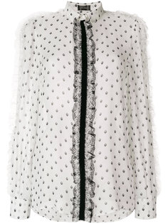 блузка с кружевом Giambattista Valli