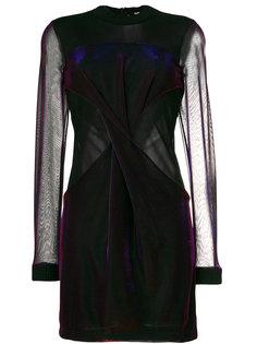 прозрачное платье Versus