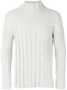 пуловер в рубчик Jil Sander
