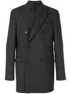 пальто строгого кроя на пуговицах Jil Sander