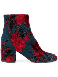 ботинки с цветочным узором P.A.R.O.S.H.