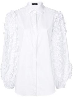 рубашка с оборками на рукавах  Dolce & Gabbana