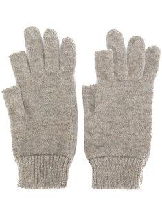 перчатки с открытыми пальцами Rick Owens