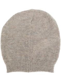 шапка с отделкой в рубчик Rick Owens