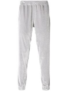 бархатные спортивные брюки Astrid Andersen