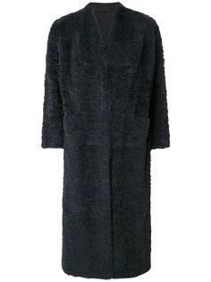 пальто с рукавами три-четверти  Salvatore Santoro