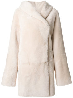 пальто с потайной застежкой Sylvie Schimmel