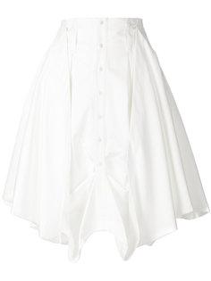 пышная юбка с драпировкой JW Anderson