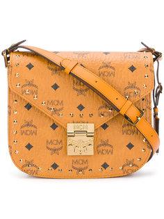 объемная сумка через плечо  MCM