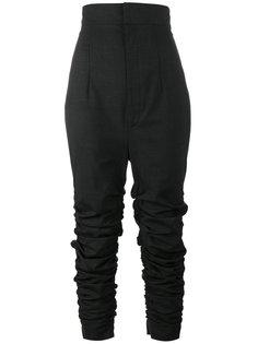 узкие брюки с драпировкой Jacquemus