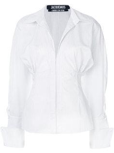 рубашка с пышными рукавами Jacquemus