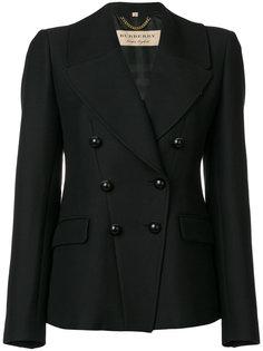 приталенное двубортное пальто  Burberry