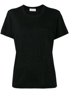 кашемировая футболка с круглым вырезом Beau Souci