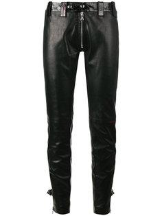узкие брюки с молнией Beau Souci