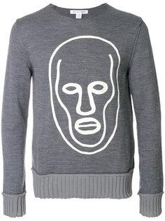 свитер с ребристой оторочкой Comme Des Garçons Shirt