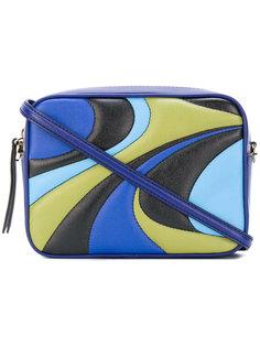 """сумка через плечо дизайна """"колор-блок"""" Emilio Pucci"""