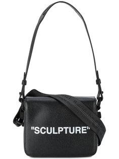 кожаная сумка на плечо Sculpture Off-White