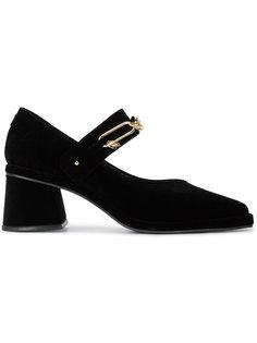бархатные туфли Мэри Джейн с цепочкой Reike Nen