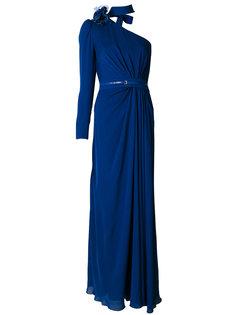 вечернее платье на одно плечо Elie Saab
