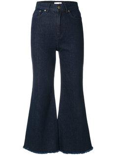 укороченные джинсы Zimmermann