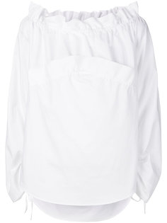 рубашка с открытыми плечами Cédric Charlier
