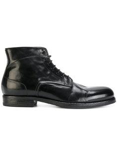 ботинки с потертой отделкой Pantanetti