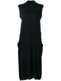 платье с высоким воротником Jil Sander