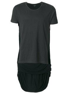 асимметричная футболка Unconditional