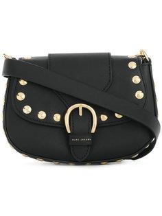 сумка округлой формы с заклепками Marc Jacobs
