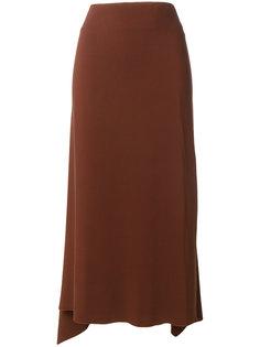 юбка с асимметричным подолом Jil Sander
